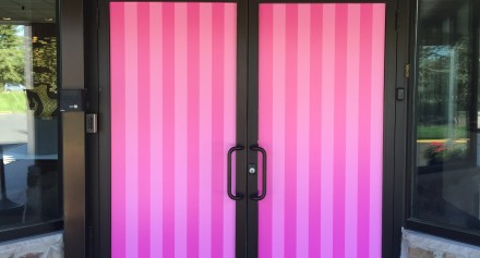 Victoria Door - Window Graphics - Bombshell Graphics
