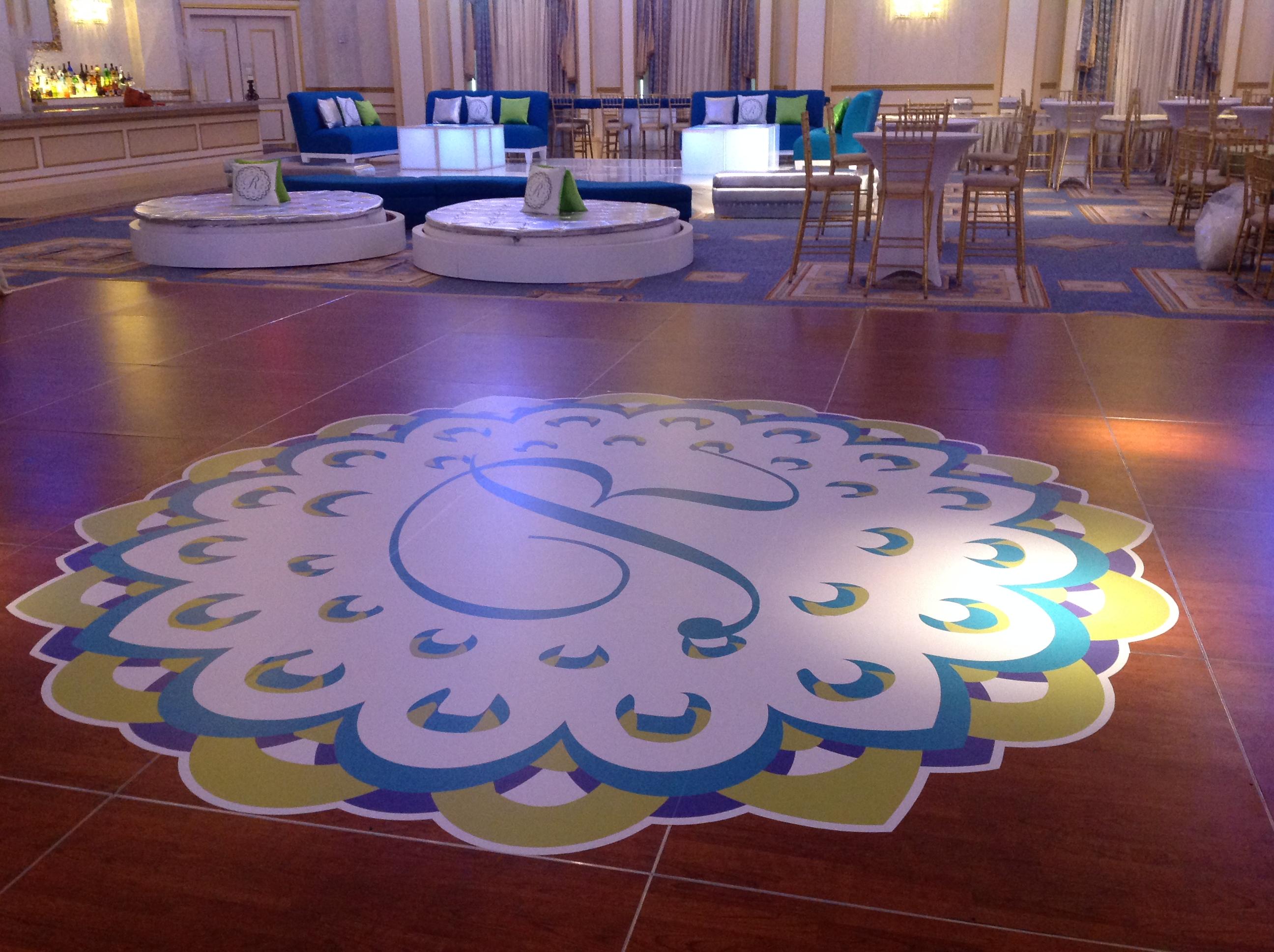 Custom Dance Floor | Dance Floor Decal