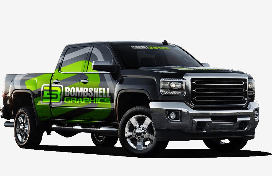 Car Wraps Cost >> Truck Wraps | Tow Truck Wraps | Vinyl Car Wraps | Bombshell Graphics | Bombshell Graphics