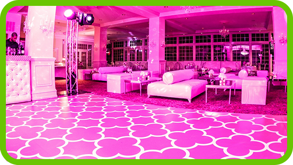 custom dance floor